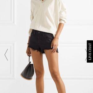 Rag & Bone cutoff jean shorts
